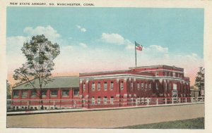 So. Manchester , Connecticut, 1900-1910s; New State Armory