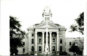 Vtg RPPC 1940s Lumberton NC North Carolina Court House Building UNP