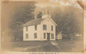 RP; MARYLAND , New York, 1900-10s ; School House
