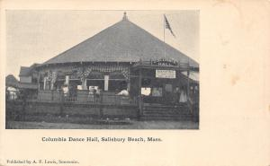 Salisbury Beach MA~Columbia Dance Hall~Open Pavilion~Afternoon & Evening~1905