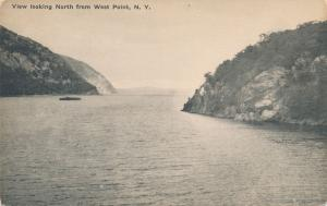 West Point NY, New York - Looking North up Hudson River