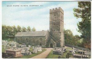 Guernsey; St Pierre Du Bois PPC, Unposted, c 1930's