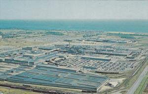 Aerial View, General Motors´ South Plant, Oshawa, Ontario, Canada, 40-60´s