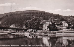 RP; MUNCHHAUSENSTADT BODENWERDEN, Lower Saxoy, Germany, PU-1958; Hotel Zum Go...