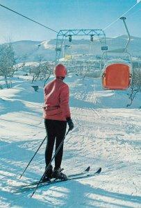 SNOW SKIING ; Lappland, Abisko , Linbanan , 50-70s