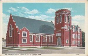 Nebraska Grand Island Trinity Methodist Church 1944