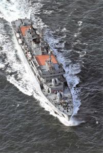 Postcard Russian Navy 310 Perekop, a Smolmy Class Training Ship, Cadets 45J