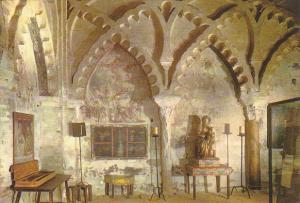 Spain Tordesillas Gift Hall Convent Of Saint Clara