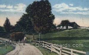 Farming Old Vintage Antique Postcard Post Card