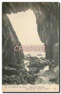 Old Postcard The Raz Bay Treoasses Interieur Cougon Callon