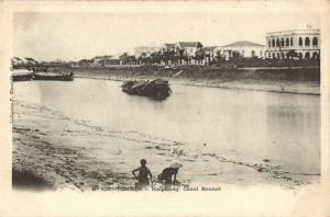 CPA Vietnam Indochine Tonkin Haiphong Canal Bonnal (35009)