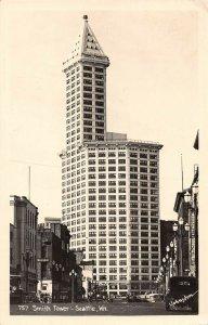 LPS39 Seattle Washington Smith Tower Postcard RPPC
