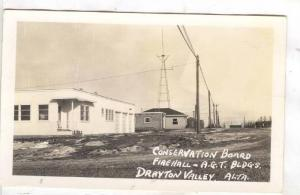 RP:Conservation Board,Fire Hall & A.G.T. Bldgs , DRAYTON VALLEY , Alberta , C...