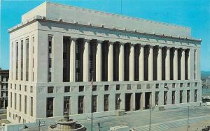 Nashville Tennessee~Davidson County Public Bldg~Court House~Fountain~1950s