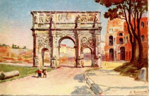 Italy - Rome, Arch of Constantine