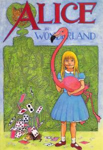 Postcard Alice in Wonderland by Mayfair Cards no.77 #D281