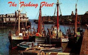 Massachusetts Boston Fishing Fleet At Boston Fish Pier