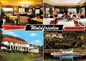 Berghotel Waldfrieden Beverungen Roter Salon Restaurant River Boat Schiff
