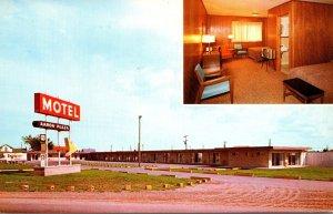 Michigan Sault Ste Marie Aaron Plaza Motel