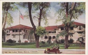 Old Ladies' Home, Automobile, DENVER, Colorado, 1910-1920s