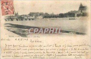 Old Postcard Blois Panoramic