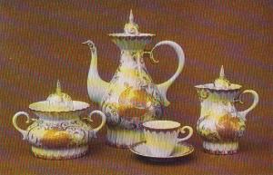 Russia Leningrad Tea Set Jubilee 1967 Museum Of The Lomonosov Porcelain Factory