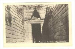 Tomb of Agamemnon,Mycenae,Greece nr Argo,Greece  1900-10s
