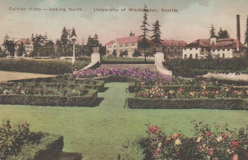SEATTLE , Washington , 00-10s ; Rainier Vista - Looking North , University of...