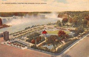 Oakes Garden Theatre and Niagara Falls Unused