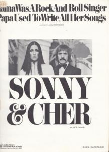 Mama Was A Rock And Roll Singer Sonny & Cher 1960s Sheet Music