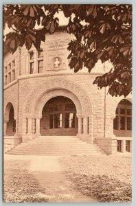 Stanford University CA Quadrangle Corner~Stone Structure~Big Arch Entrance c1907