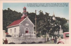 Canada Ste Anne de Beaupre The Memorial Chapel