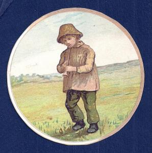 VICTORIAN TRADE CARDS (4) Children w/No Advertising