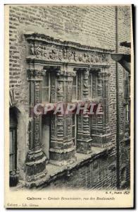 Postcard Old Cahors Renaissance Croisee Rue des Boulevards
