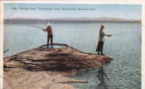 Fishing Cone Yellowstone Lake Yellowstone National Park