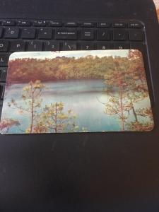Vintage Postcard; Monte Bello, Mexico