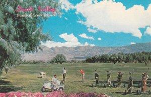 Golf Course , DEATH VALLEY , California , 50-60s ; Furance Creek Ranch