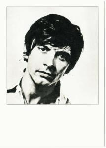 David Bailey English Photographer in 1964 by Mick Jagger Postcard