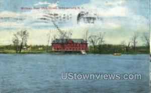 Mohawk Boat Club House Schenectady NY 1910