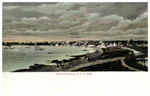 18832    Aerial View of  Geneva   NY in 1836