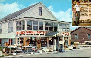 Maine Wells Beach Pop DeVito's Shell Shack Free Shell Museum & Motel