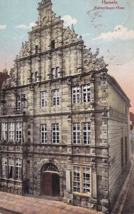 HAMELN, Lower Saxony, Germany, 1900-1910's; Rattenfanger-Haus