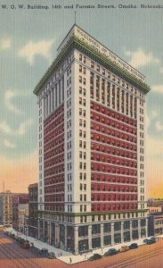 OMAHA, Nebraska, 1930-40s; W.O.W. Building, 14th and Farnam Streets