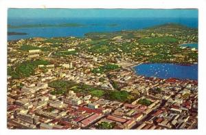 Nouméa,New Caledonia, 40-60s ; Aerial view