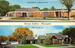 Werness Brothers Funeral Chapels Minneapolis, MN USA Funeral Home Unused