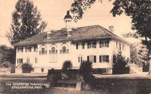 The Berkshire Playhouse in Stockbridge, Massachusetts