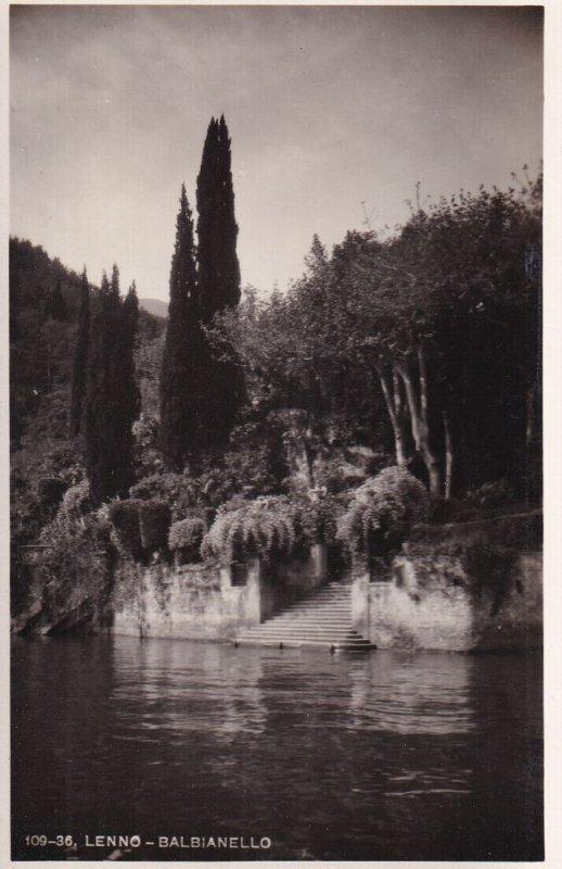 RP; LENNO, Italy, 1920-1940s; Balbianello