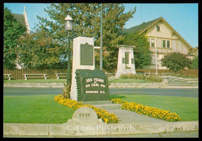 Nanaimo Coal Monument - Canada