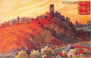 Altweilnau Weilrod Germany~L Klement Publ~G Rothoeb Artist Signed POSTCARD