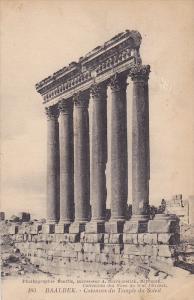Cotonnes Du Temple Du Soleil, Baalbek, Lebanon, 1900-1910s